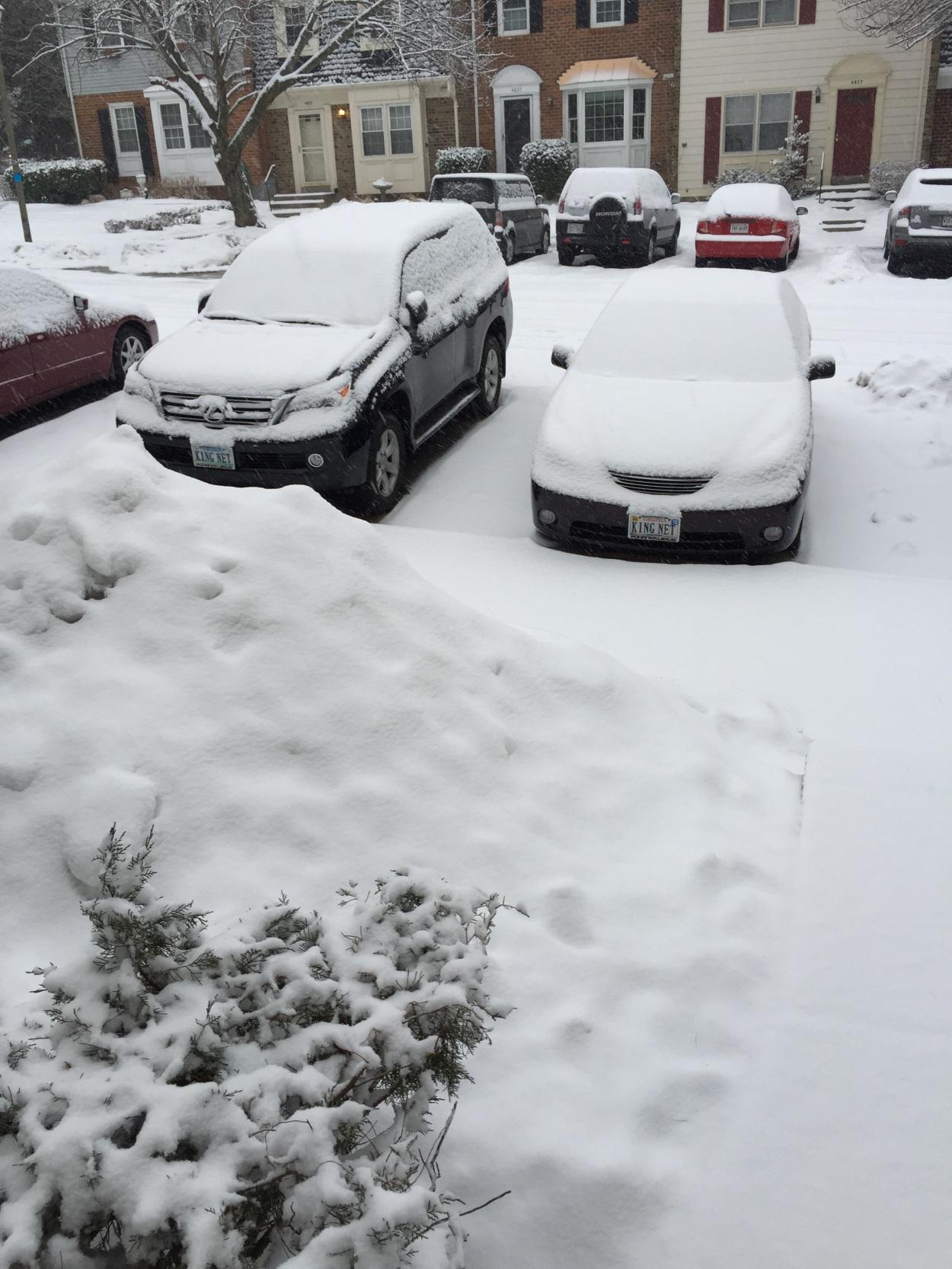 QUE.COM Snow in February
