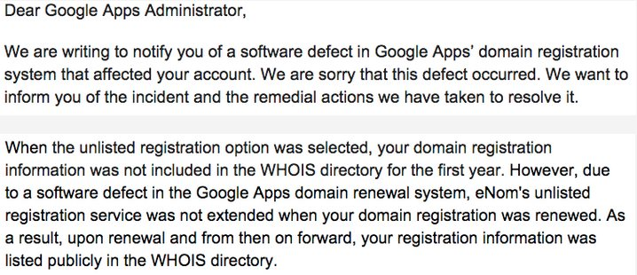 QUE.COM.20150316.Google-Leaks-Whois-Data-for-Over-282-000-Protected-Domains