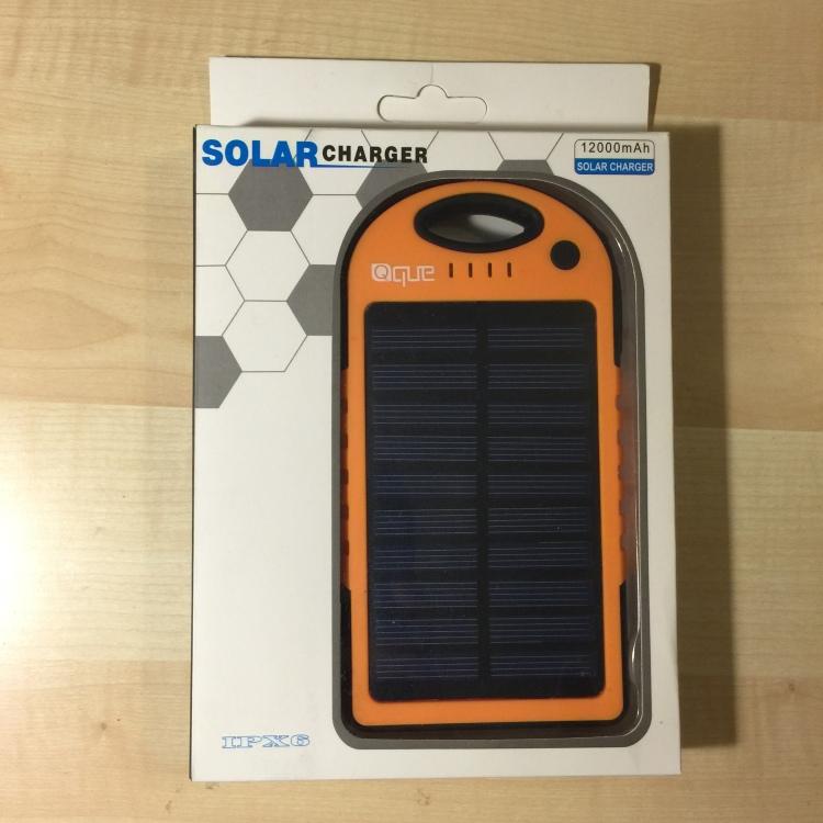 QueUSA.com - Solar Charger