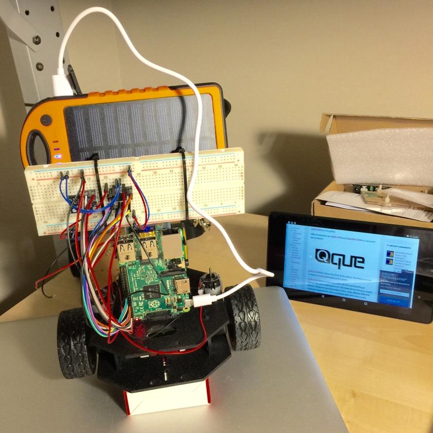QueUSA.com - Raspberry Pi2 with QUE Solar Charger